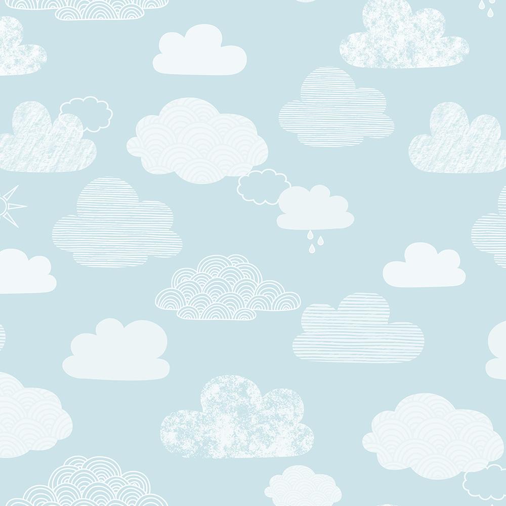 Duka Duvar Kağıdı Kids Collection Cloud DK.15156-3 (16,2 m2)