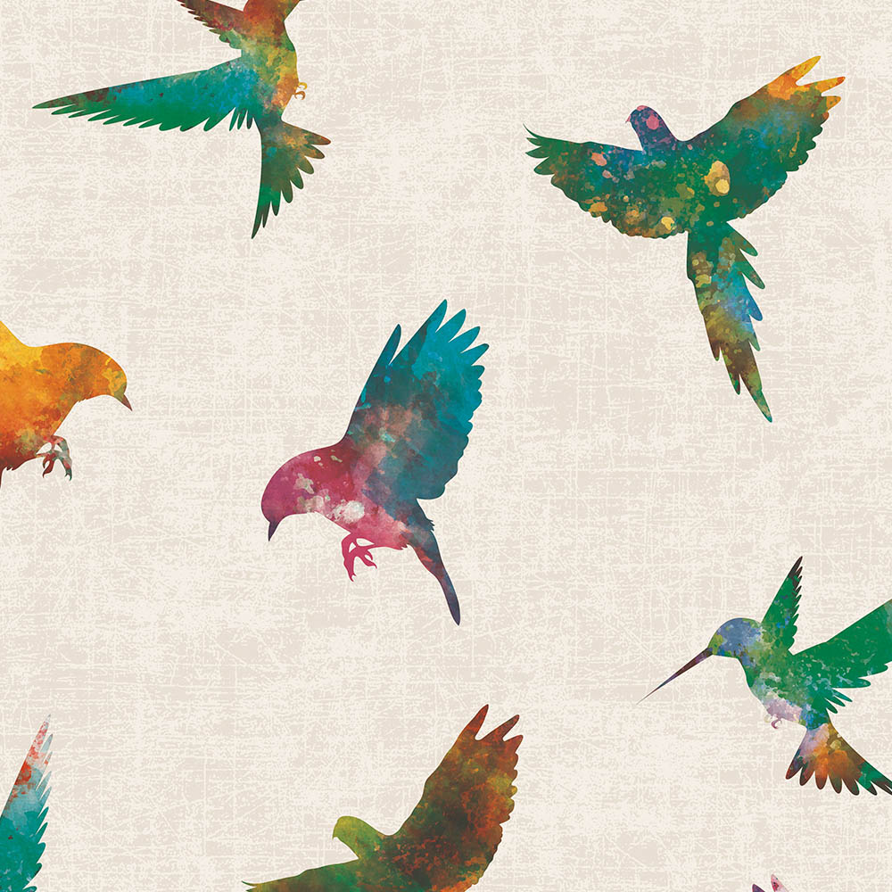 Duka Duvar Kağıdı Freedom Birds DK.14253-1 (16,2 m2)
