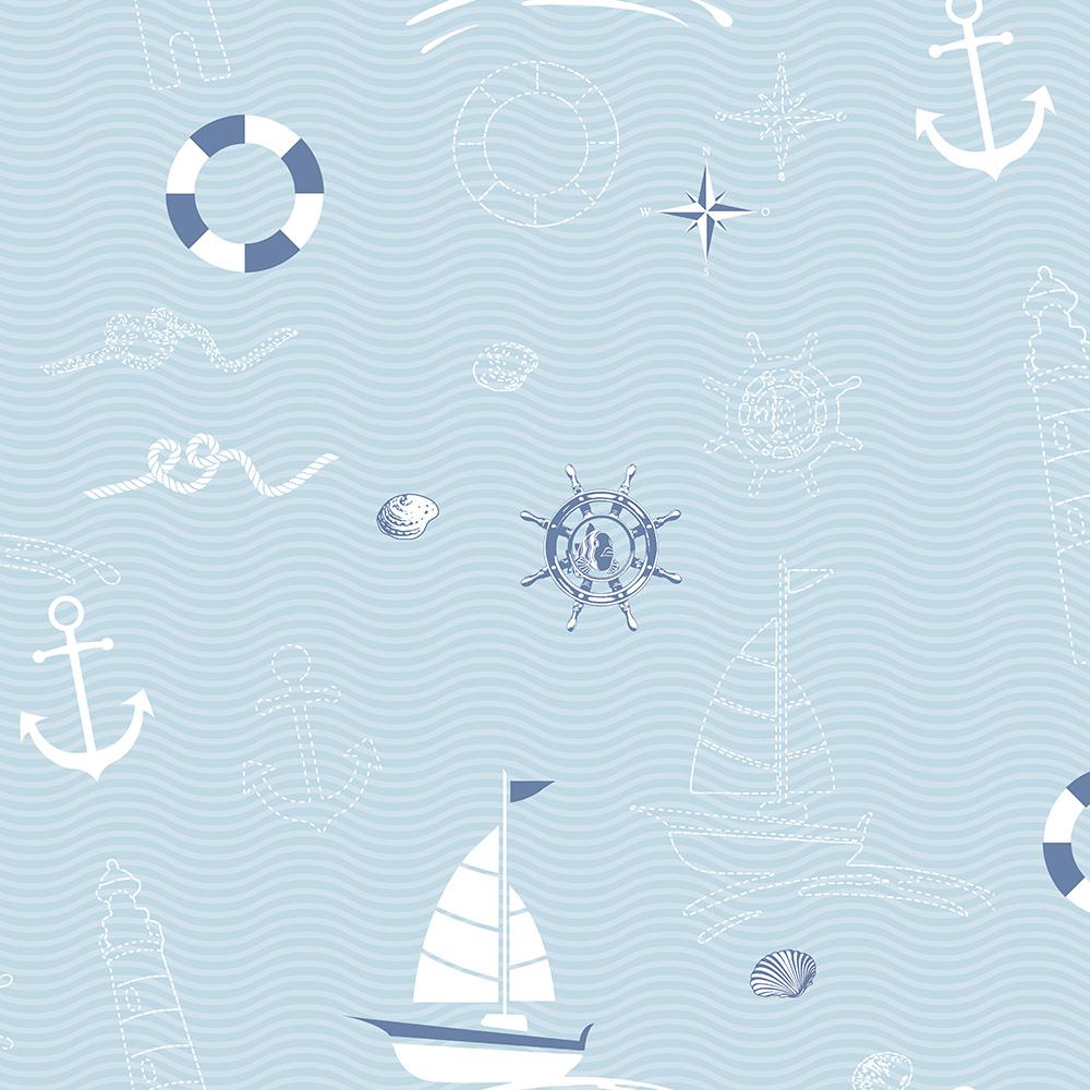 Duka Duvar Kağıdı Kids Collection Marin DK.15163-1 (16,2 m2)