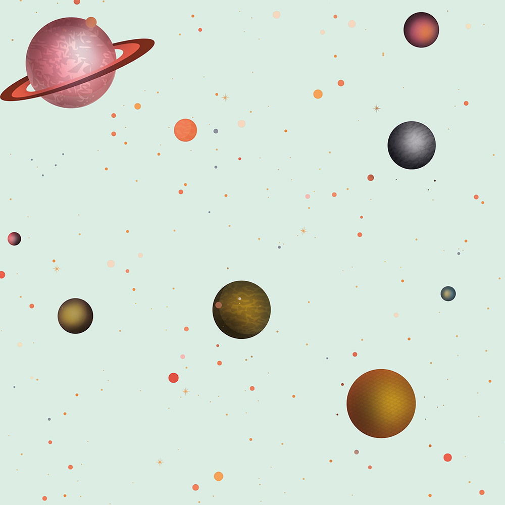 Duka Duvar Kağıdı Kids Collection Galaxi DK.15137-2 (16,2 m2)