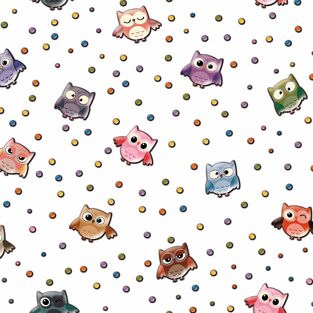Duka Duvar Kağıdı Kids Collection Owl DK.15181-1 (16,2 m2)