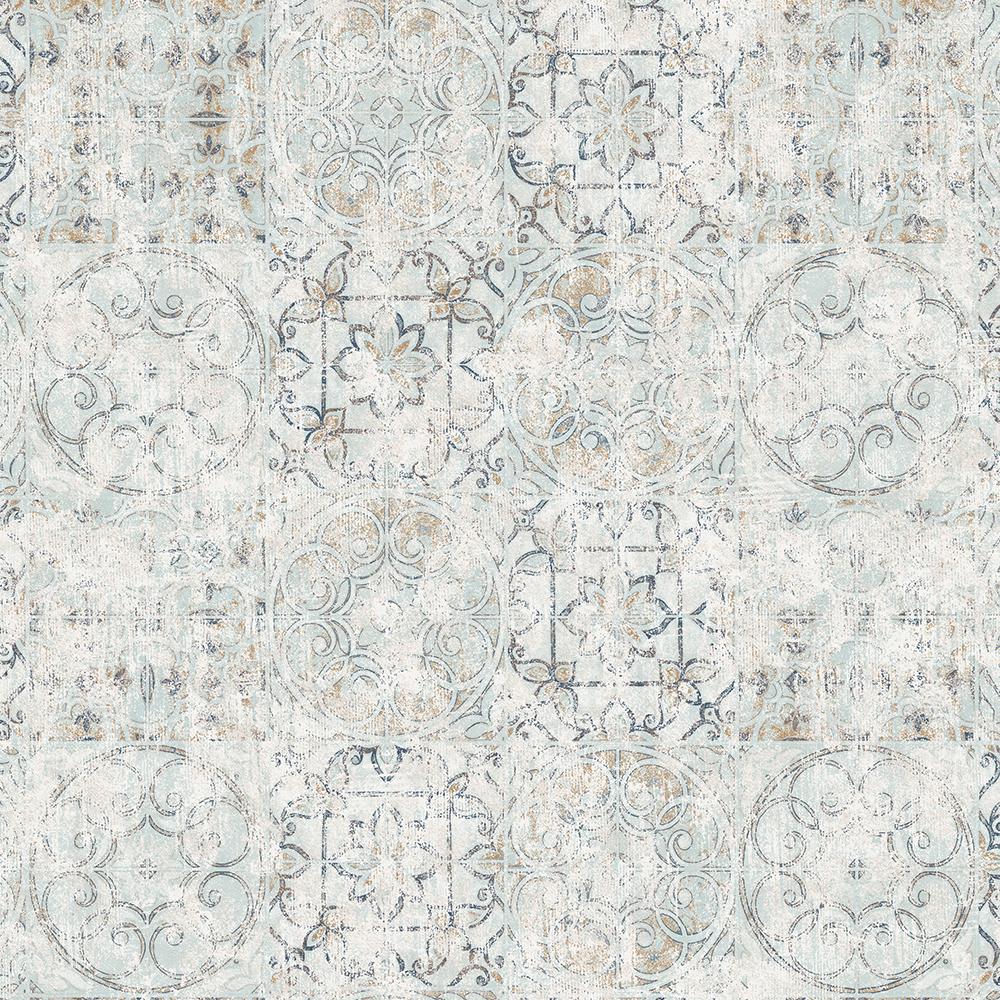 Duka Duvar Kağıdı Desing Plus Tile DK.13141-3 (16,2 m2)