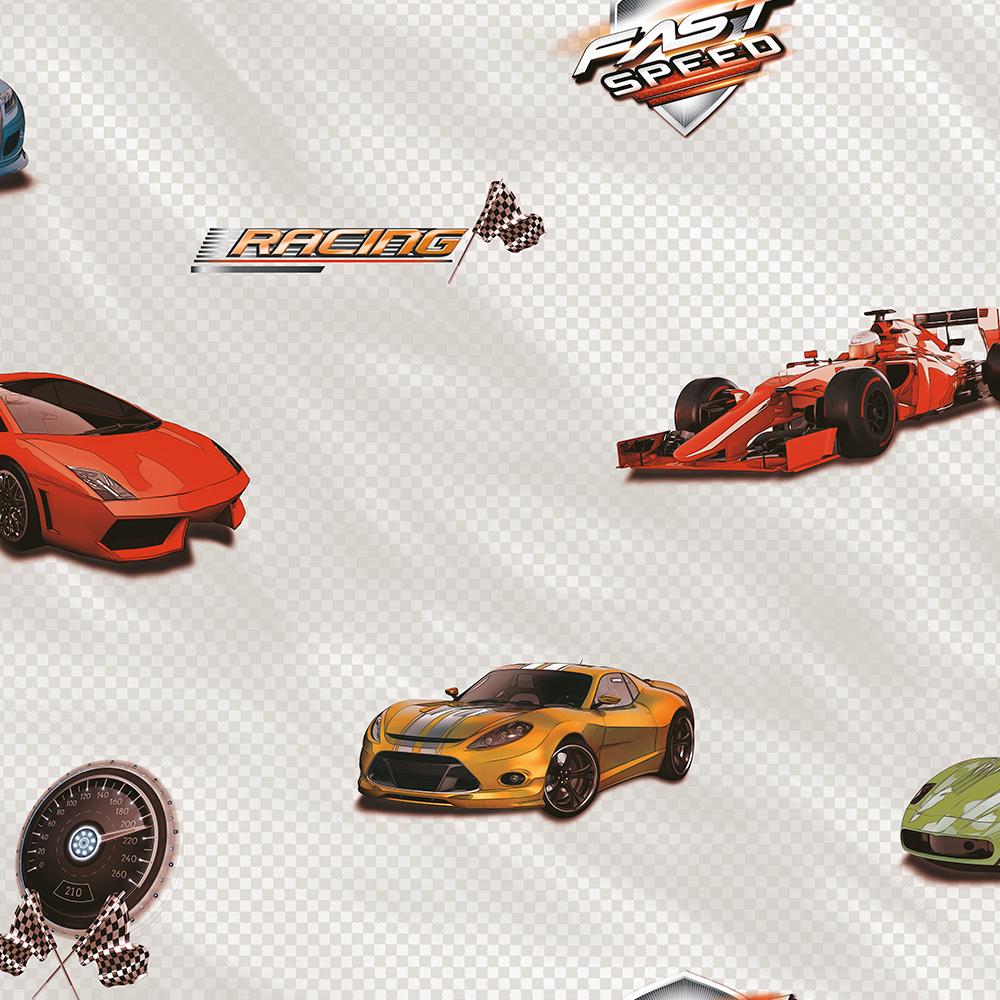 Duka Duvar Kağıdı Kids Collection Speed DK.15183-1 (16,2 m2)