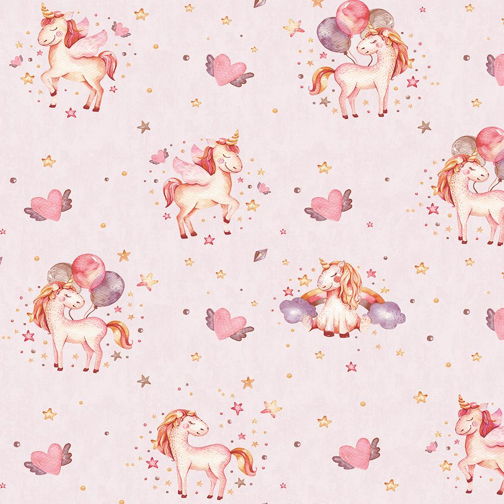 Duka Duvar Kağıdı Kids Collection Pony DK.15111-2 (16,2 m2)