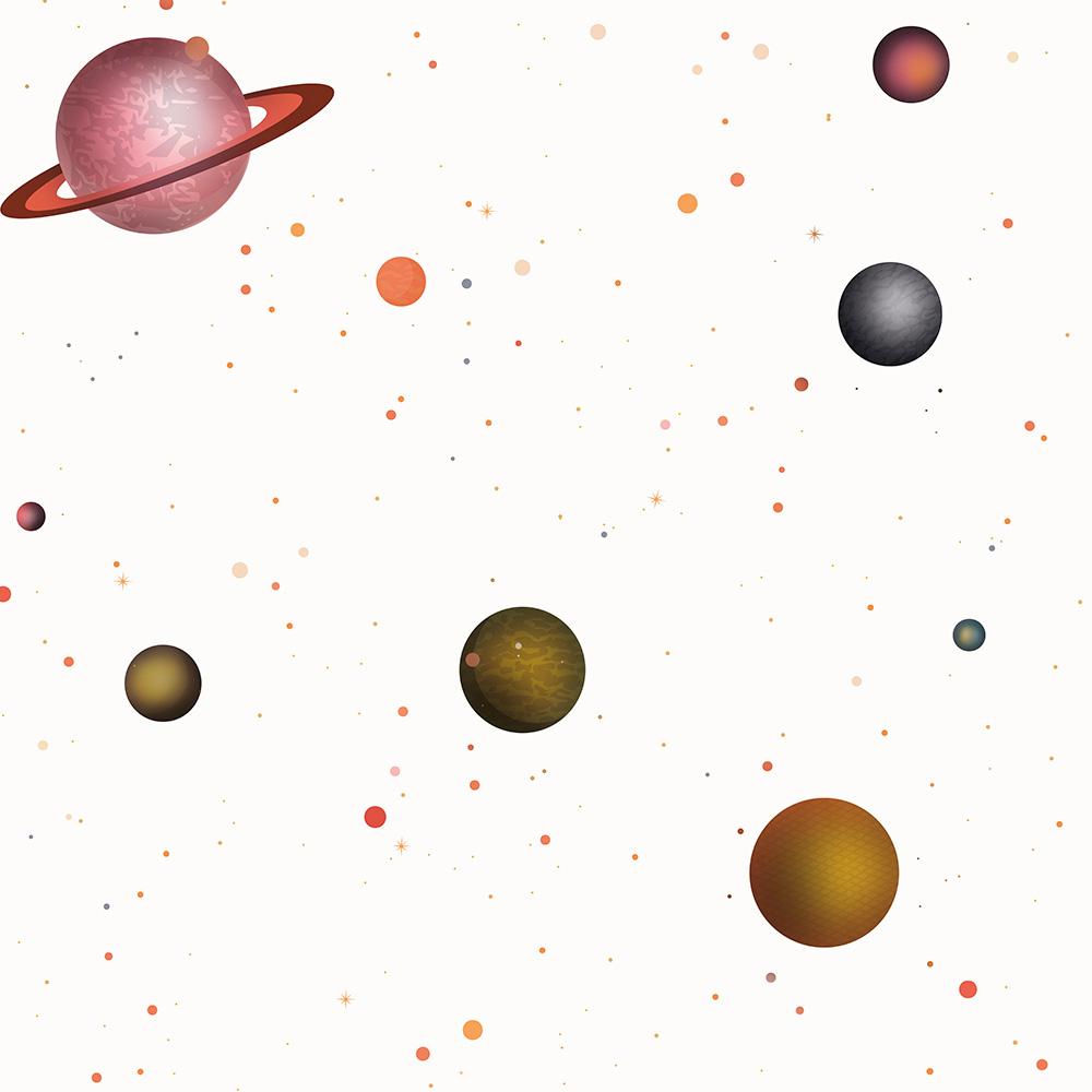 Duka Duvar Kağıdı Kids Collection Galaxi DK.15137-1 (16,2 m2)