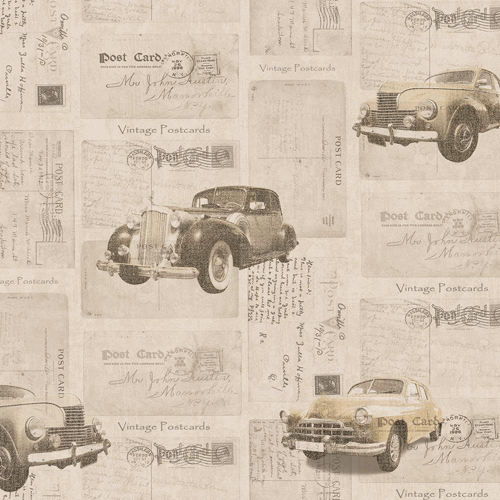 Duka Duvar Kağıdı Freedom Car DK.14251-2 (16,2 m2)
