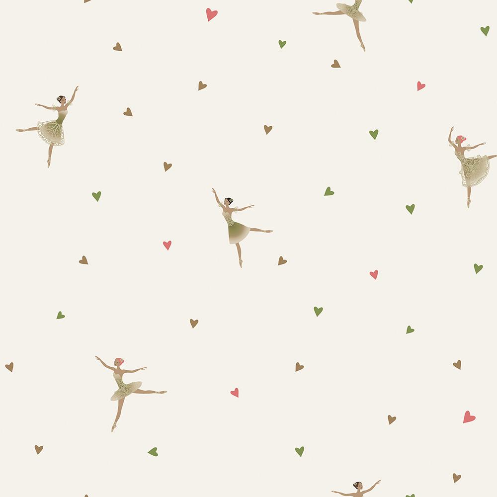 Duka Duvar Kağıdı Kids Collection Ballerina DK.15171-2 (16,2 m2)
