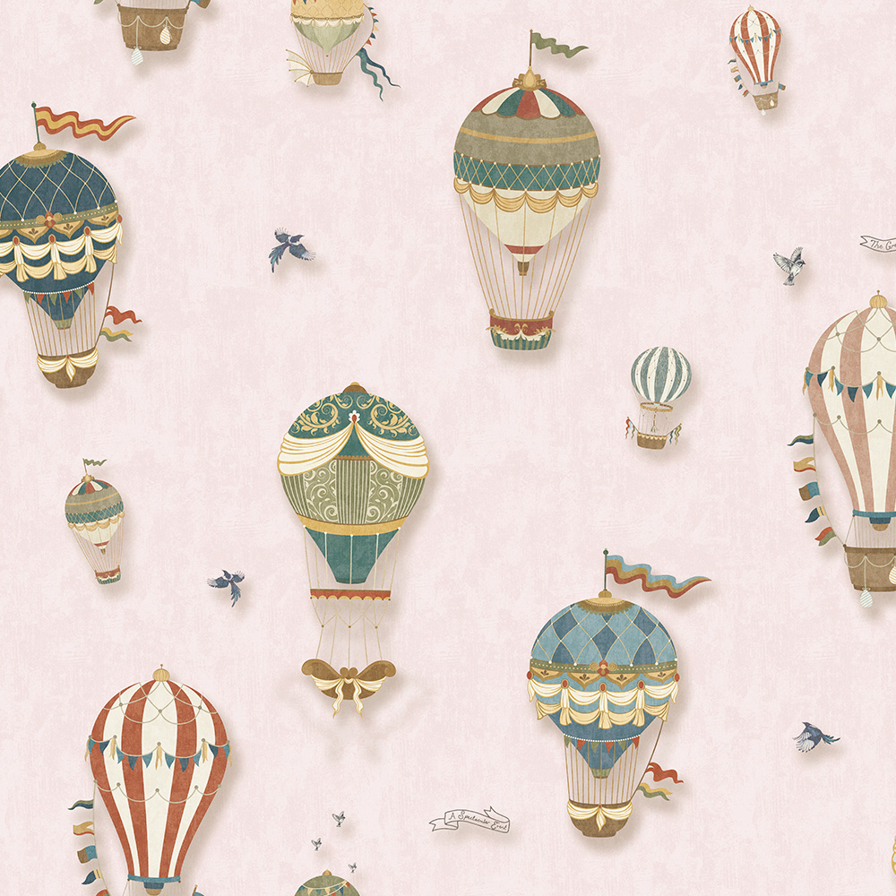 Duka Duvar Kağıdı Kids Collection Balloon DK.15144-2 (16,2 m2)