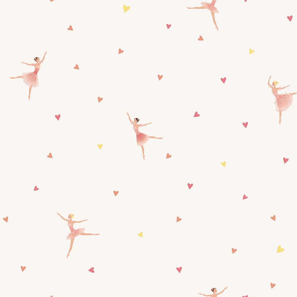 Duka Duvar Kağıdı Kids Collection Ballerina DK.15171-1 (16,2 m2)