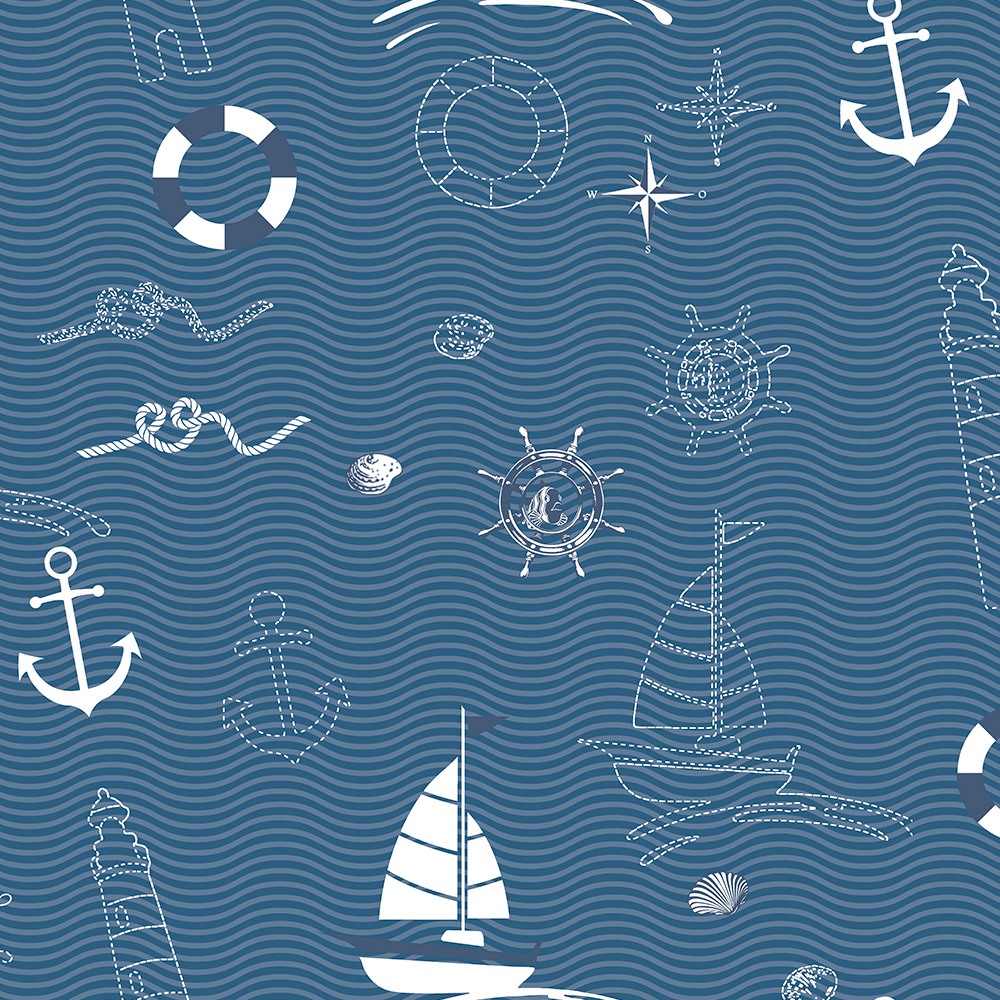 Duka Duvar Kağıdı Kids Collection Marin DK.15163-2 (16,2 m2)