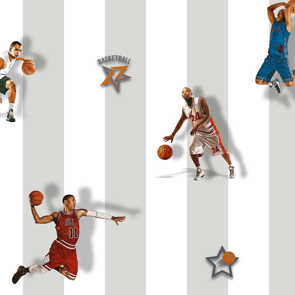 Duka Duvar Kağıdı Kids Collection Basketball DK.15188-2 (16,2 m2)