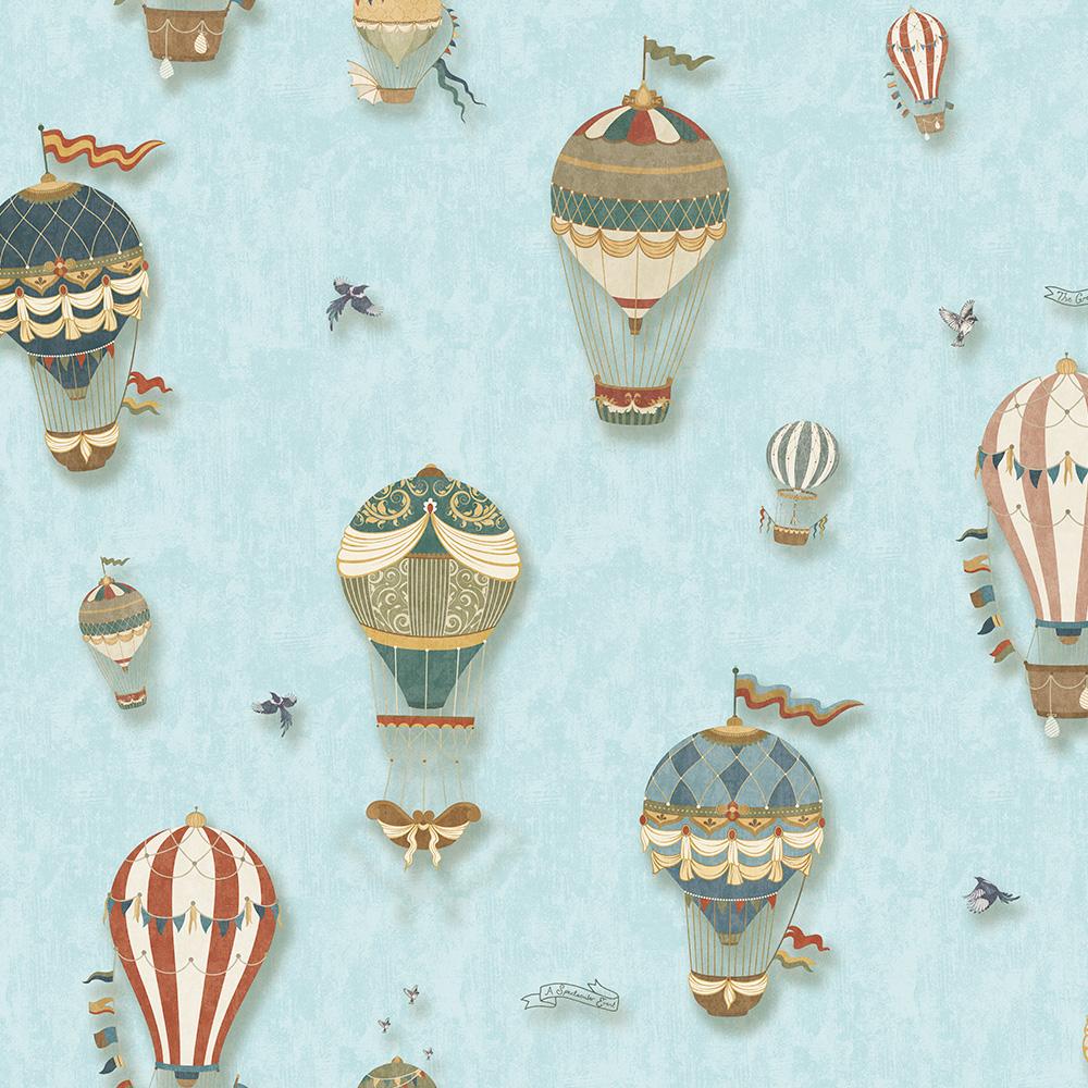 Duka Duvar Kağıdı Kids Collection Balloon DK.15144-3 (16,2 m2)