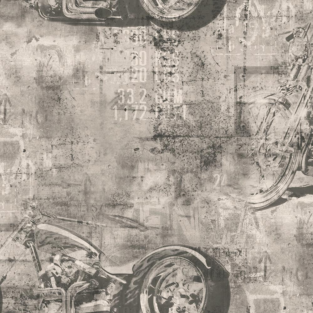 Duka Duvar Kağıdı Freedom Motorcyle DK.14247-2 (16,2 m2)