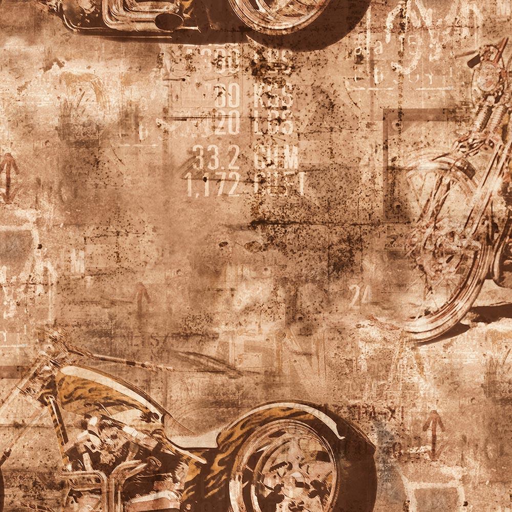 Duka Duvar Kağıdı Freedom Motorcyle DK.14247-1 (16,2 m2)