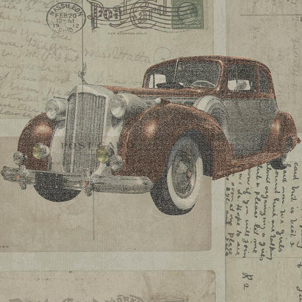 Duka Duvar Kağıdı Freedom Car DK.14251-1 (16,2 m2)