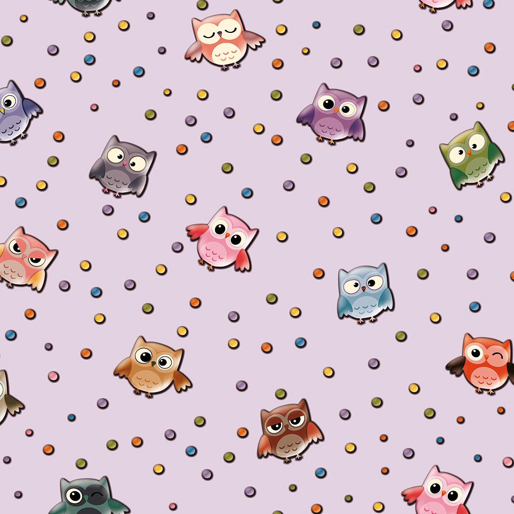Duka Duvar Kağıdı Kids Collection Owl DK.15181-3 (16,2 m2)